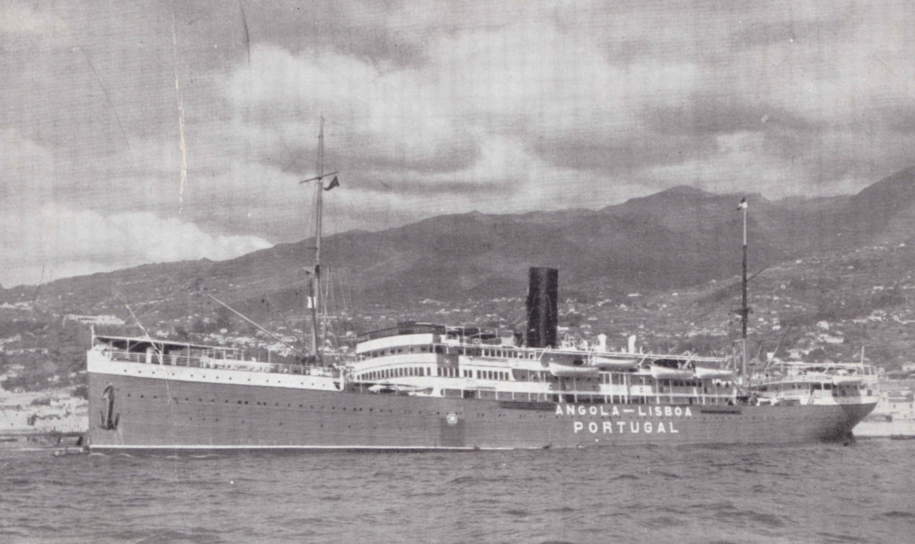 Picture form the portuguese steamer Angola